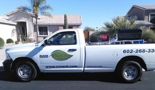 Croach Pest Control - Tempe, AZ Service Vehicle