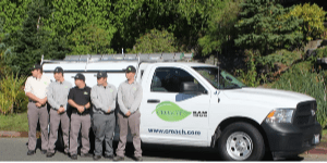 Pest Control - Croach - Hillsboro, OR - Technicians in from of company truck