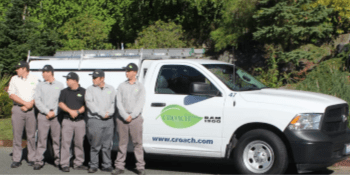 Pest Control - Croach - Salem, OR - Technicians in front of company van